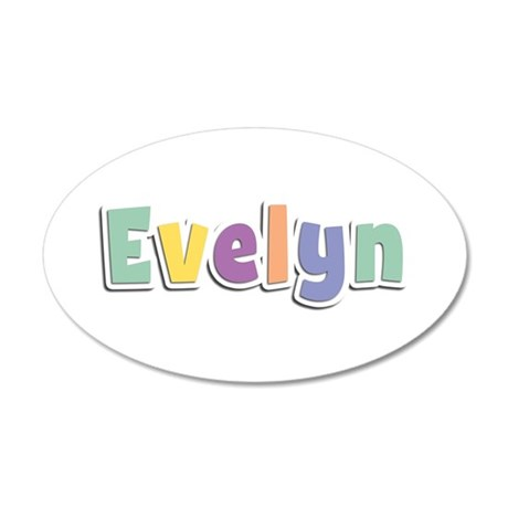 Evelyn Spring14 35x21 Oval Wall Decal