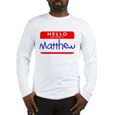 MATTHEW Long Sleeve T-Shirt
