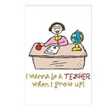 Teacher When I Grow Up Postcards (Package of 8)