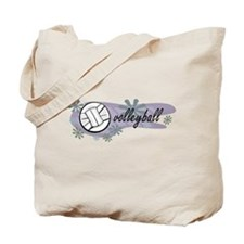 Volley Ball Tote Bag