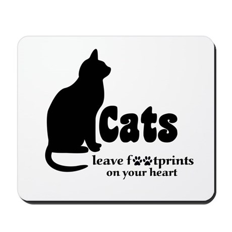 Footprints Mousepad