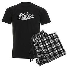 Kyler, Retro, Pajamas