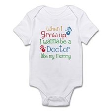 Doctor Like Mommy Infant Bodysuit