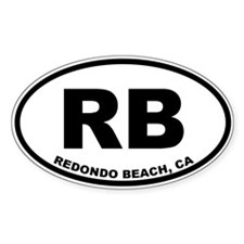 RB Redondo Beach Decal