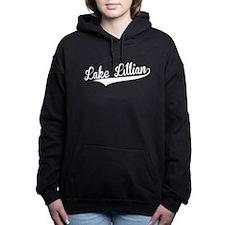 Lake Lillian, Retro, Women's Hooded Sweatshirt