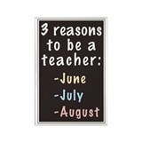 Teacher Rectangular Magnet