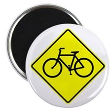 """Bike Sign Share the Road Magnet 10 pack (2.25"""")"""
