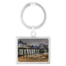 Old Orchard Beach  Landscape Keychain