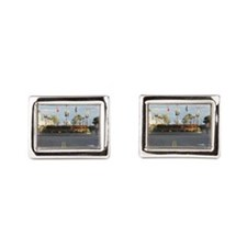 Old Orchard Beach  Rectangular Cufflinks