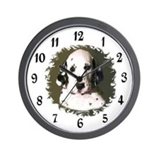 DALMATION PUPPY Wall Clock