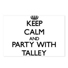 Keep calm and Party with Talley Postcards (Package