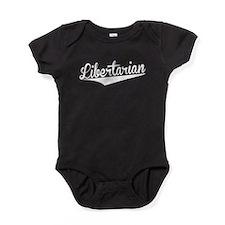 Libertarian, Retro, Baby Bodysuit