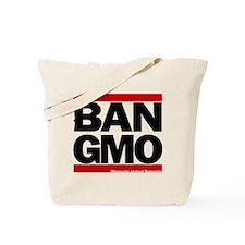 Ban-Gmo Black-Red Tote Bag