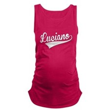 Luciano, Retro, Maternity Tank Top
