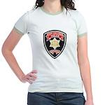 SF City College Police Jr. Ringer T-Shirt