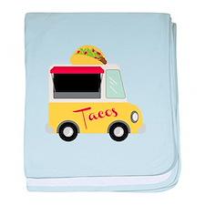 Tacos baby blanket