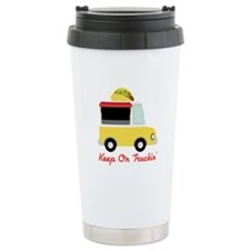 Keep On Truckin Travel Mug