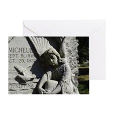 Angel Sorrow Greeting Card