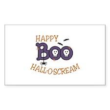 Happy Hall-O-Scream Decal
