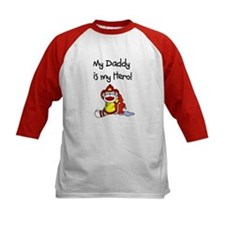 Sock Monkey Hero Dad Tee
