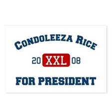 Condoleeza Rice for President Postcards (Package o
