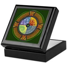 Celtic Elements Keepsake Box