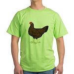 Partridge Chantecler Hen Green T-Shirt