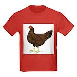 Partridge Chantecler Hen Kids Dark T-Shirt