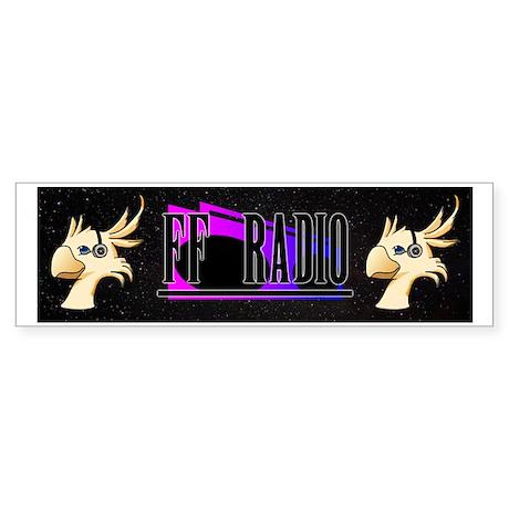 FF Radio Banner Sticker (Bumper)