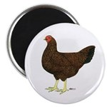 Partridge Chantecler Hen Magnet