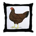 Partridge Chantecler Hen Throw Pillow