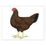 Partridge Chantecler Hen Small Poster