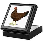 Partridge Chantecler Hen Keepsake Box