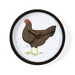Partridge Chantecler Hen Wall Clock