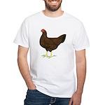 Partridge Chantecler Hen White T-Shirt