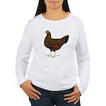 Partridge Chantecler Hen Women's Long Sleeve T-Shi