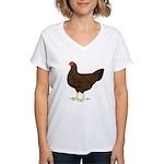 Partridge Chantecler Hen Women's V-Neck T-Shirt