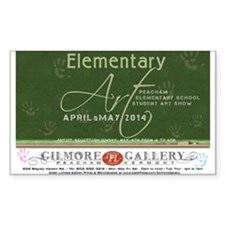 Elementary Art 2014 Decal