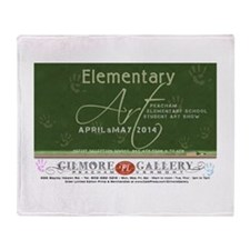 Elementary Art 2014 Throw Blanket