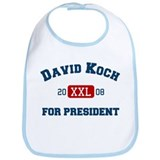 David Koch for President Bib