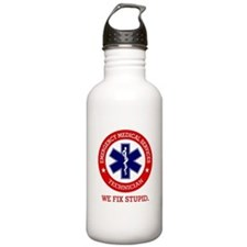 EMS (We Fix Stupid) Water Bottle