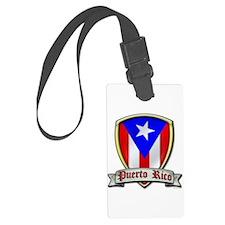 Puerto Rico - Shield2 Luggage Tag