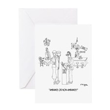 Restaurant Cartoon 0643 Greeting Card