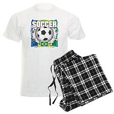 Brazil Soccer Pajamas
