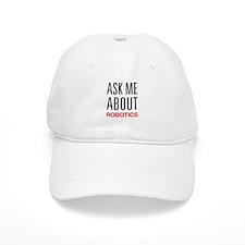 Ask Me About Robotics Baseball Cap