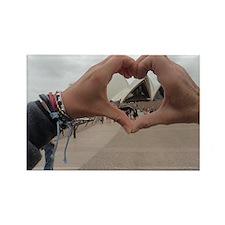 We Heart Sidney Rectangle Magnet