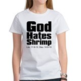 God Hates Shrimp Tee