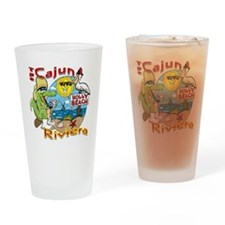 Cajun Paradise Drinking Glass