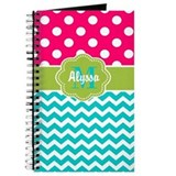 Monogram Journals & Spiral Notebooks