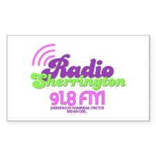 Radio Sherrington Decal